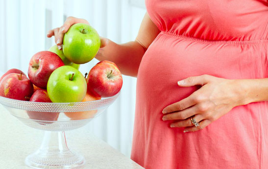درمان غذایی سوزش سر دل در مادران باردار