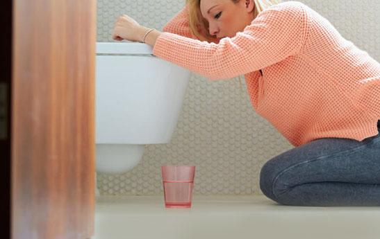 راه های کاهش تهوع حاملگی