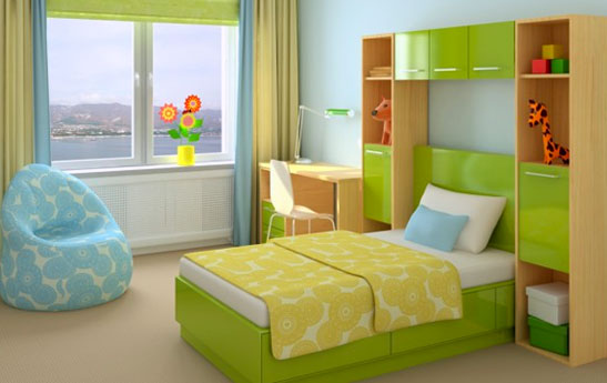 اتاقی دنج برای کودک بسازیم