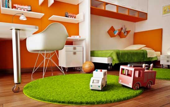 اتاق کودک از نوزادی تا خردسالی