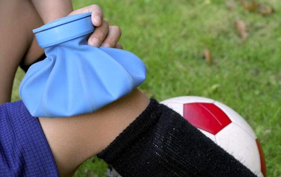 درد قدام زانو در نوجوانان