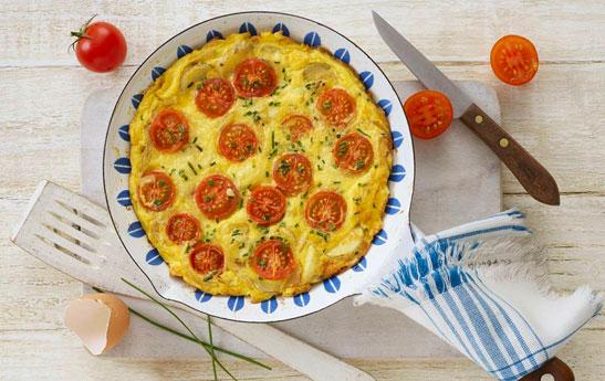 فریتاتای گوجه فرنگی