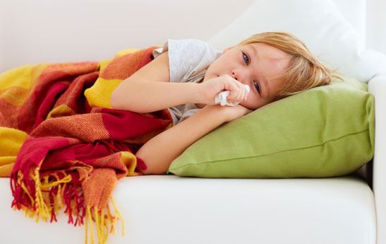 علت های شایع گلودرد در کودکان