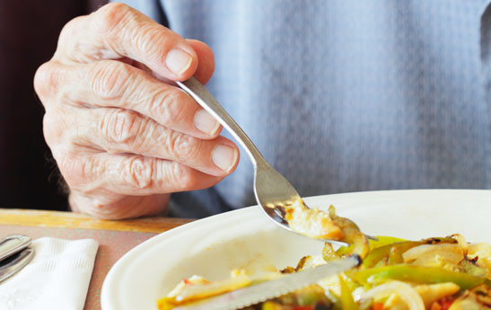 تغذیه مناسب در سالمندان