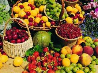 میوهجات و سبزیجات تابستانی