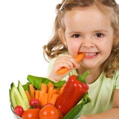 میوه خوردن کودکان