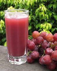 آب انگور با نعناع