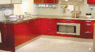 آشپزخانه رنگين