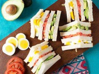ساندويچ سه لايه