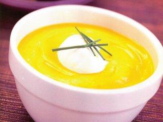 سوپ كدو حلوايی