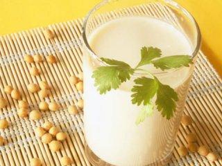 ارزش غذایی شیر سویا