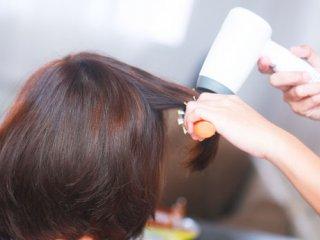 نکاتی در مورد سشوار کشیدن مو