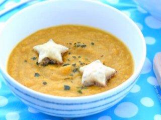 سوپ هویج و جعفری