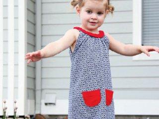 تبدیل پیراهن قدیمی دخترانه به لباسی نو