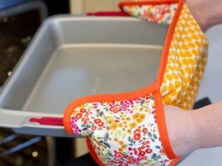 دوخت دستگیره ساده | آموزش دوخت دستگیره آشپزخانه مخصوص فر