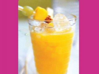 نوشیدنی با میوههای گرمسیری