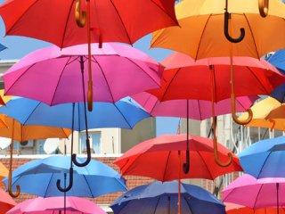 چتری زیبا و شیک داشته باشید