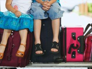 سفر با کودک به شرط غذای سالم