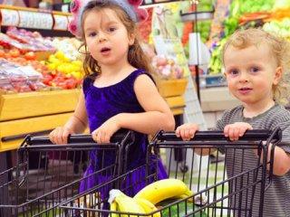 راهبردهای خرید مواد غذایی مفید برای کودکان