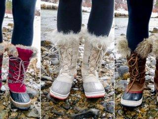 انتخاب بوت های زمستانی زنانه