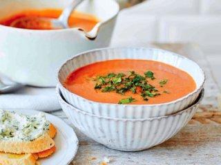 سوپ چغندر و هویج