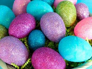 تخممرغ رنگی های براق