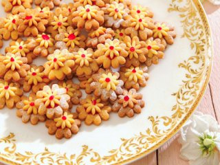 شیرینی گل های مارمالادی