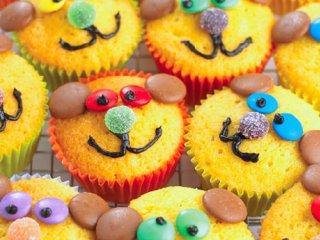کاپ کیک خرسی