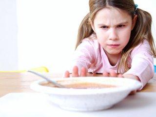 بی اشتهایی در کودکان