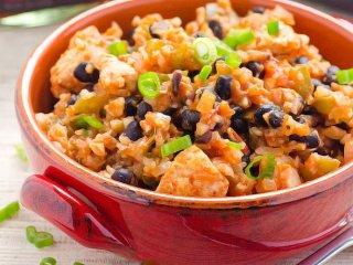 برنج گل کلم؛یک غذای رژیمی خوشمزه + طرز تهیه