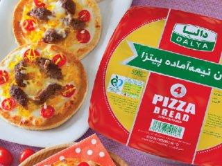 پیتزا چلوکباب (لقمهای)
