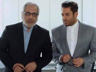 مهران مدیری و محمدرضا گلزار با دستبند و لباس زندان بر پوستر یک فیلم + عکس