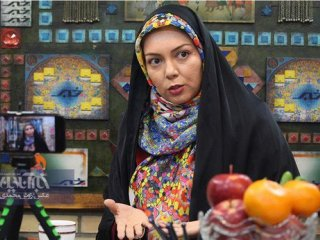 کنایه آزاده نامداری به رضا گلزار با چاشنی انتقاد از مدیران صداوسیما+عکس