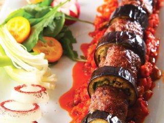 کبابگوشت و بادمجان (ترکیه)