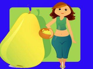 رژیم غذایی مناسب اندام گلابی شکل