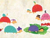 هم قصه هم بازی با انگشت: لاكپشتها