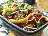 خوراك فيله با سبزيجات
