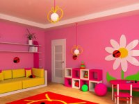 تركيب طرح ها در اتاق کودک