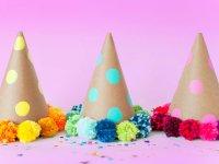 ساخت کلاه منگوله دار برای جشن و مهمانی