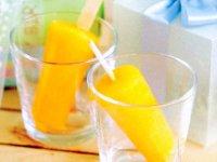 بستنی يخی انبه  آناناس و پرتقال