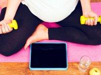 حرکات ورزشی مناسب دوران بارداری