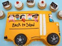 کیک بازگشت به مدرسه