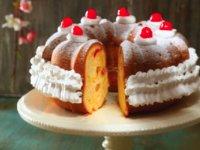 کیک میوه های استوایی