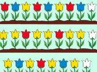 گل های باغچه