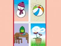 کارت پستال فصل ها
