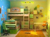 راه های مرتب نگه داشتن اتاق بچه ها