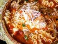 سوپ لازانیا؛ متفاوت و خوشمزه + طرز تهیه