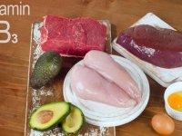ویتامین B3 موجود در انواع مواد غذایی