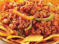 خوراک فلفل با گوشت