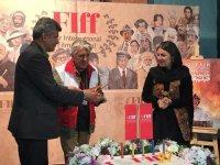 رضا کیانیان و ستاره اسکندری در لباس امدادگران هلال احمر+ عکس